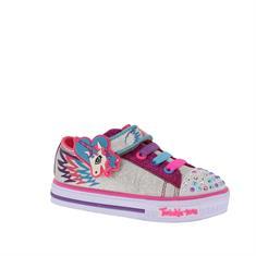 Skechers Schuffles Party Pets Meisjes Sneaker