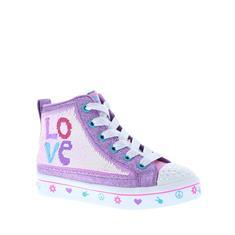 Skechers Twi-Lites 2.0 Love Meisjes Sneaker