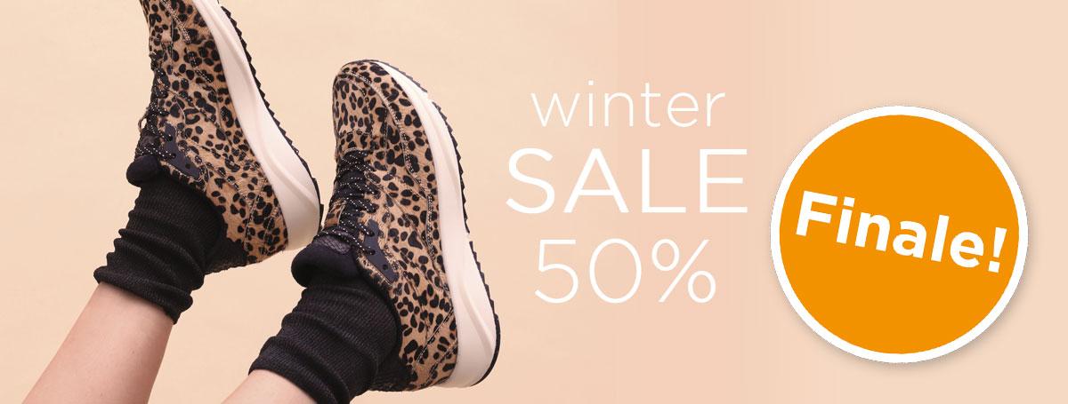 Winter sale 50% finale